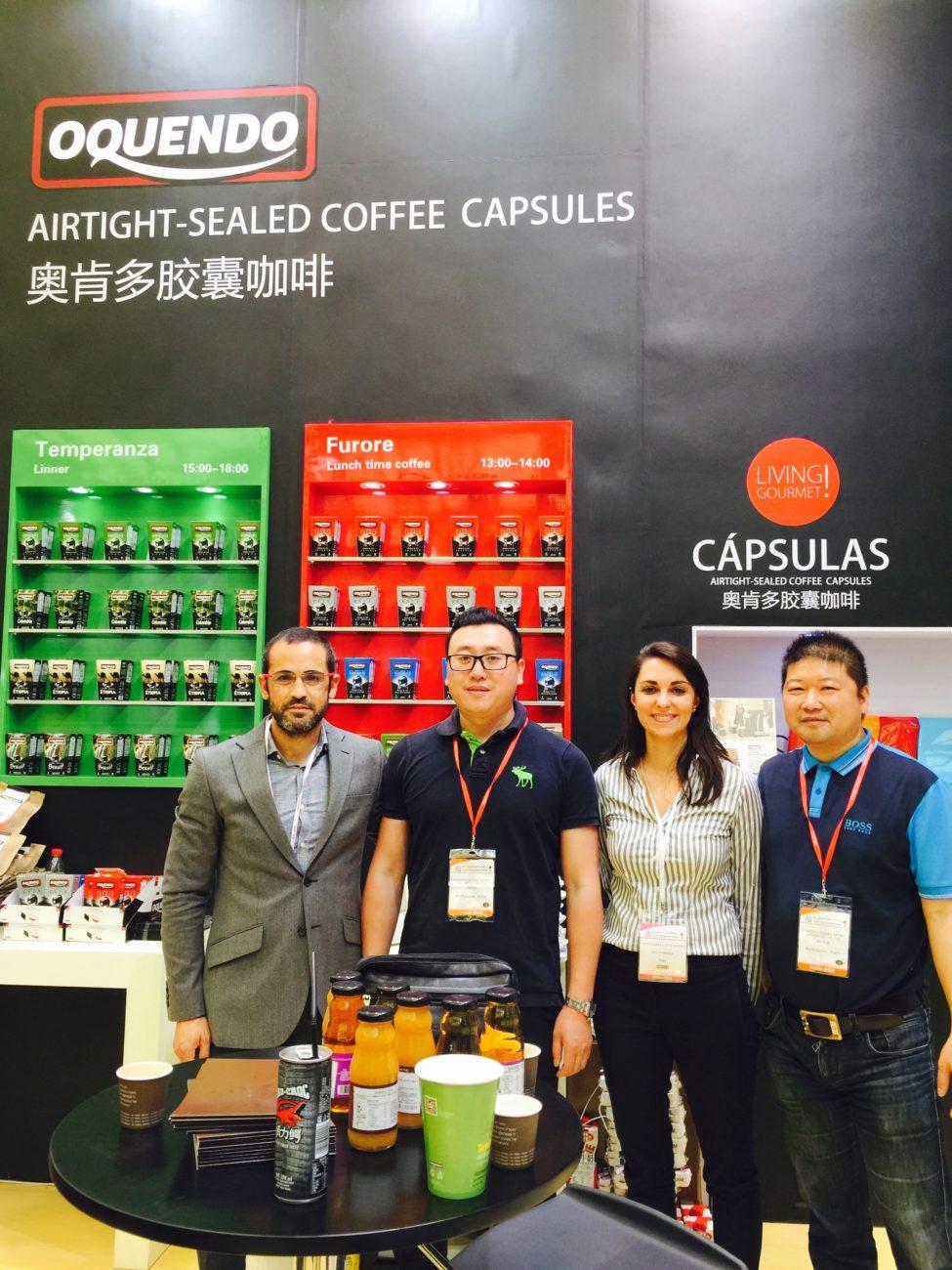 Cafés Oquendo en Sial China